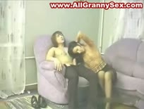 Amateur mature woman and a younger dude